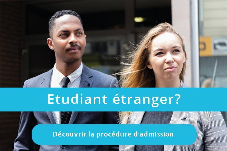 Procédure admission MBA ESG