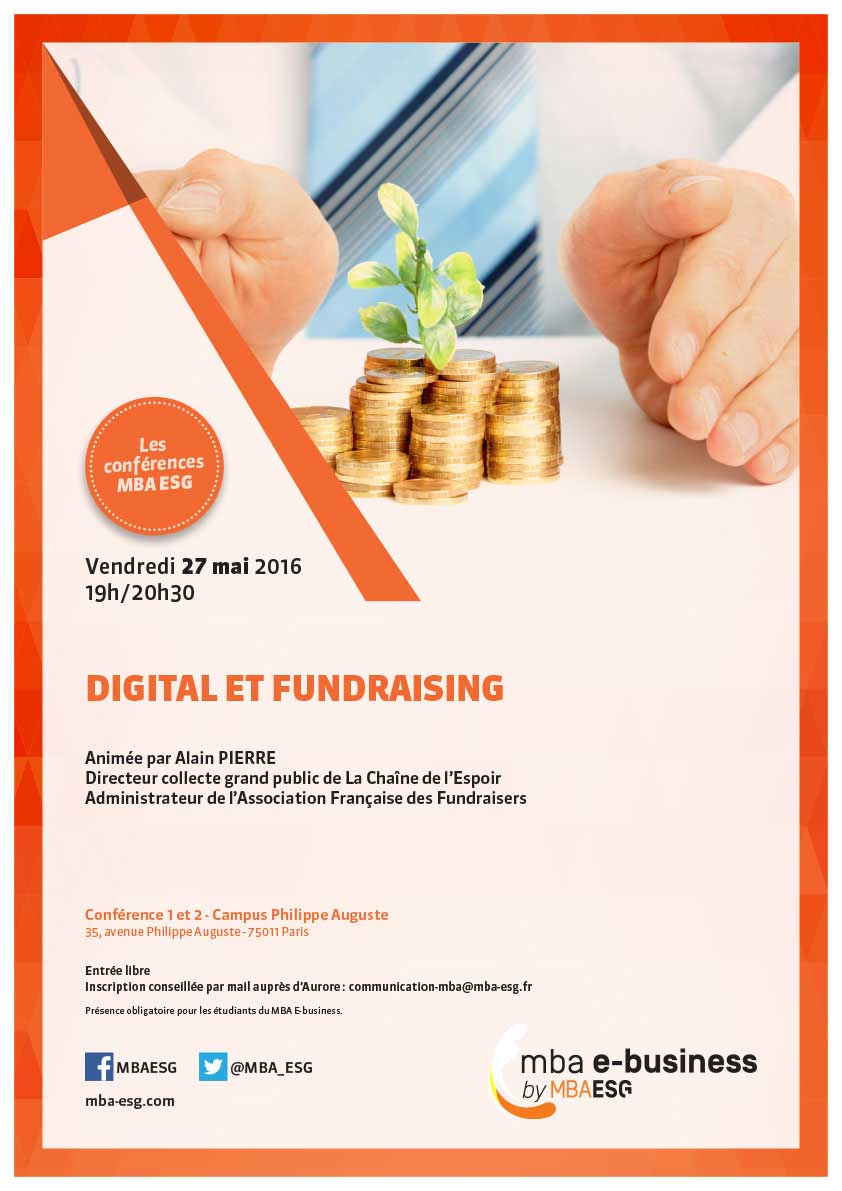 "Conférence ""Digital et Fundraising"" - 27/05"