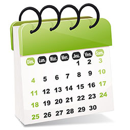 Calendrier des rentrées MBA ESG - janvier 2017