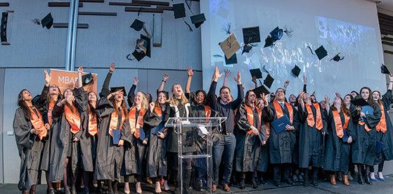 Gala de remise des diplômes MBA ESG - 4/02/17 - retour en image