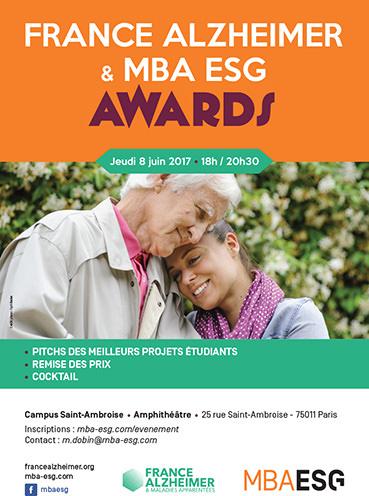 1ère édition des France Alzheimer & MBA ESG Awards - 8 juin