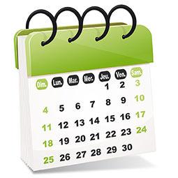 Calendrier des rentrées MBA ESG - sept/oct 2017