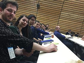 Nos étudiants en MBA Production de Jeux Vidéo en visite au VideoGame Executive Forum