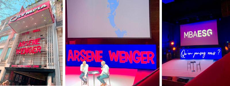 Rencontre exceptionnelle avec Arsène WENGER à l'Olympia