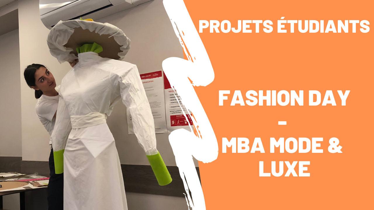 Anne-Julie étudiante en MBA Mode & Luxe revient sur la Fashion Day