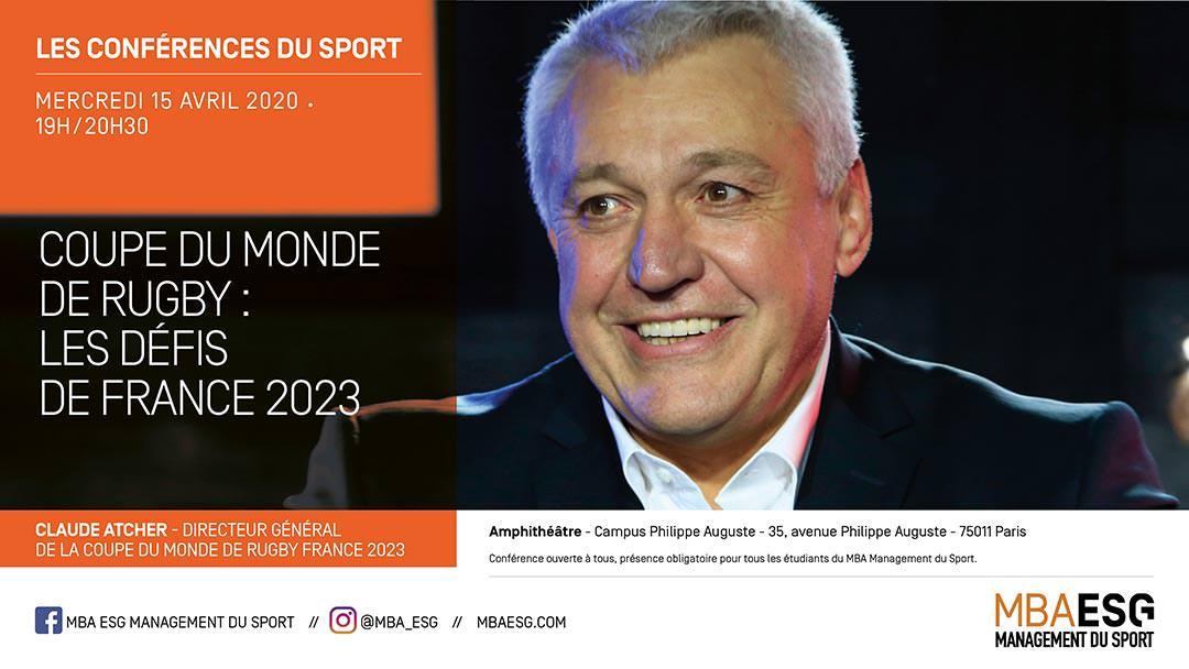 Conférence : Coupe du Monde de Rugby : les défis de France 2023