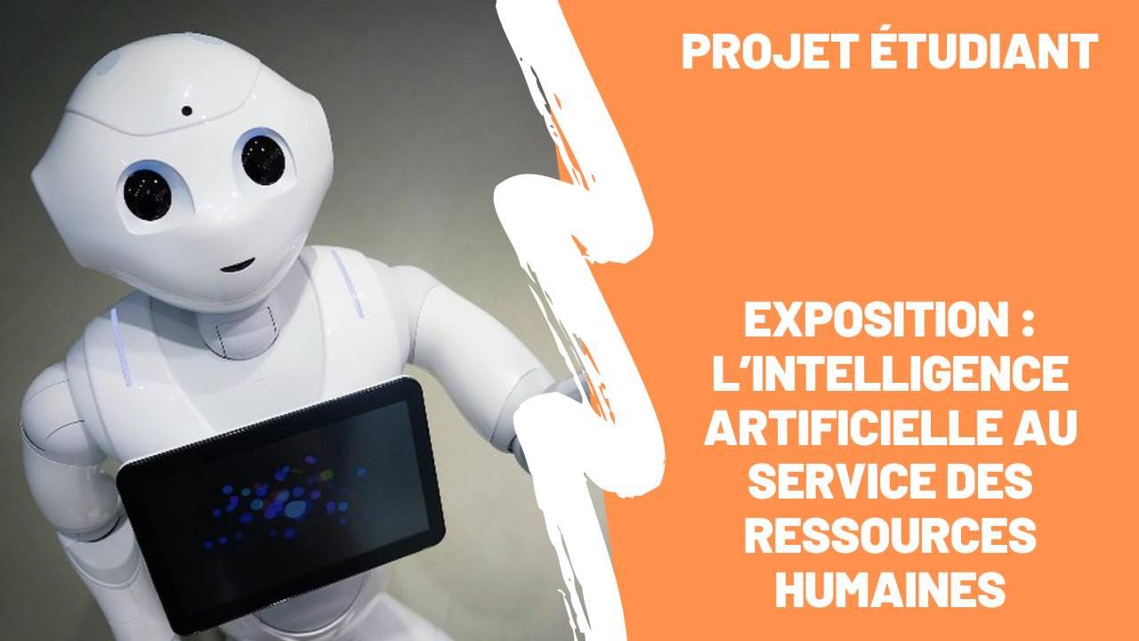 Retour en vidéo sur l'exposition originale et interactive des MBA ESG : L'intelligence Artificielle au service des RH