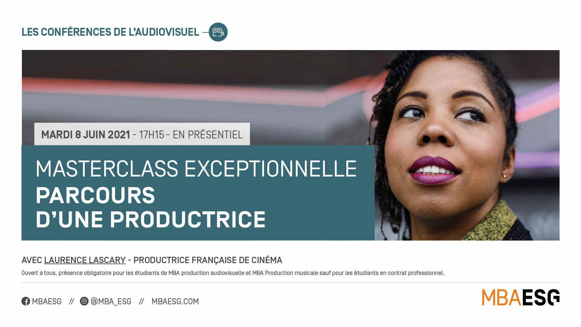 Master Class avec Laurence Lascary