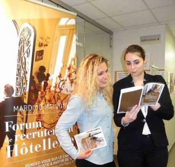 Forum de recrutement de l'hôtellerie 2016