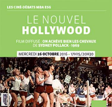 Ciné débat MBA ESG - 26.10 - Le Nouvel Hollywood - Master Production audiovisuelle