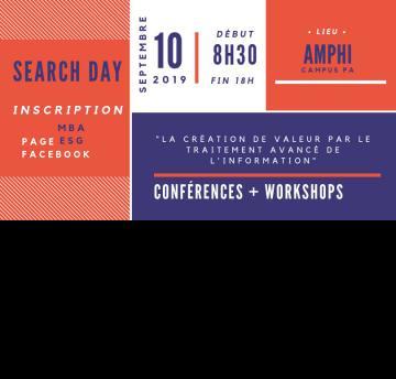 Participez au Search Day : Comment créer de la valeur par le traitement avancé de l'information