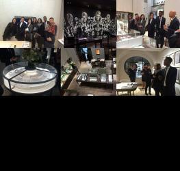 Visite de la boutique Chaumet pour les MBA Mode et luxe - Master mode et luxe