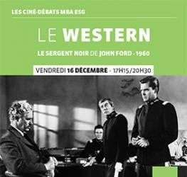 Ciné débat MBA ESG - 16.12 - Le Western - Master Production audiovisuelle