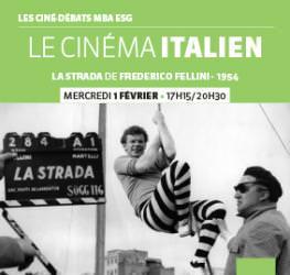 Ciné-débat MBA ESG 01/02 : « Le Cinéma Italien » - Master Production audiovisuelle et musicale