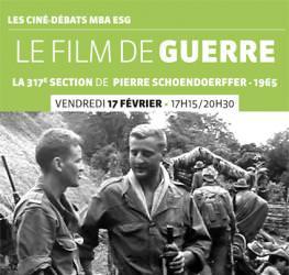 Ciné-débats MBA ESG  17/02: «Le film de guerre» Nicolas Cabos