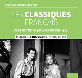Ciné-débat 08/11 : « Les classiques français » Nicolas Cabos - Master Production audiovisuelle et musicale