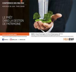 Conférence : Le prêt dans la gestion de patrimoine - Master Gestion des patrimoines
