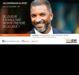 Conférence : De joueur à consultant sportif préféré de la Ligue 1
