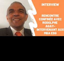 """Rencontre """"confinée"""" avec Rodolphe Agay - intervenant aux MBA ESG"""