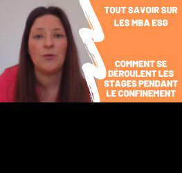 Vanessa Carrey fait le point sur les stages pendant le confinement